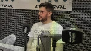 Emiliano Acuña en La Grieta